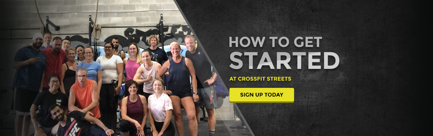 How to get started at CrossFit Streets