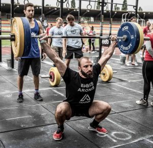 Coach Babis Aronis at Crossfit Streets